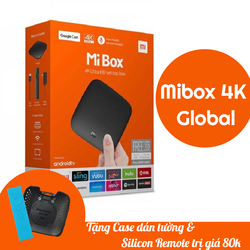 [TẶNG TK VIP] ANDROID TV BOX MIBOX 4k Global | Mibox 4K Quốc Tế
