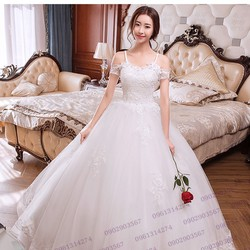 Áo cưới tay con - T170401