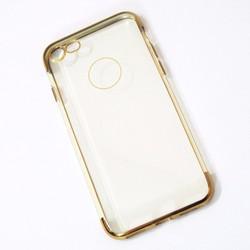 Ốp lưng dẻo iPhone 7 mẫu đơn giản vàng - HỘP 2 CÁI