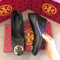 Giày nữ đế xuồng chất liệu da cao cấp mới