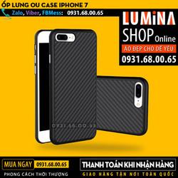 Ốp lưng iPhone 7 Carbon Fiber Leather OU Case giá rẻ