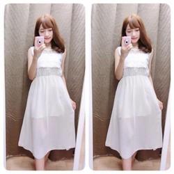 váy maxi ren mẫu mới   về hàng