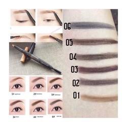 Chì kẻ chân mày 2 đầu Designing Eyebrow Pencil The Face Shop.