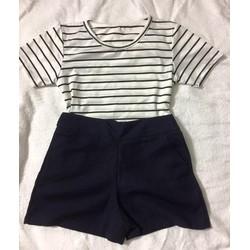 Set combo áo thun quần short