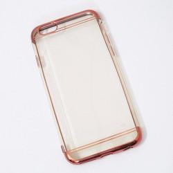 Ốp lưng dẻo iPhone 6 6S mẫu đơn giản hồng - HỘP 2 CÁI
