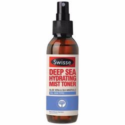 Xịt khoáng Lô hội Muối khoáng biển Swisse Hydrating Mist Toner