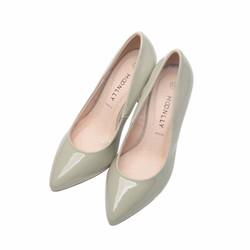 Giày bít nữ mũi nhọn cao gót