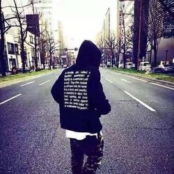 hoodie đen