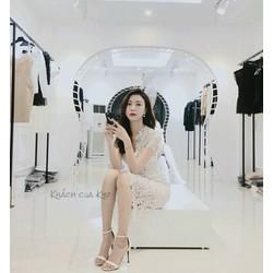 Đầm body ren trắng siêu cute
