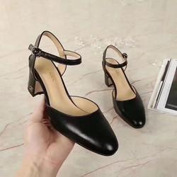 Giày nữ thời trang cao cấp,kiểu dáng đơn giản,nữ tính