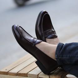 Giày da nam Loafer - Thời trang công sở