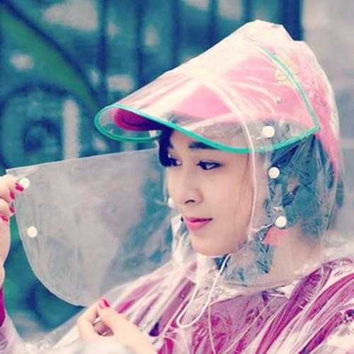 áo mưa khẩu trang 1 đầu - áo mưa