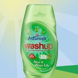 Astonish - Nước rửa chén Astonish tinh chất lô hội, hoa huệ tây