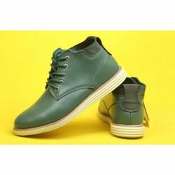 Giày kiểu dáng boot  phong cách mạnh mẽ, lich lãm tặng vớ nam