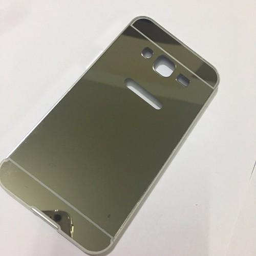 Samsung-Galaxy-J3 2016-Ốp tráng gương viền kim loại