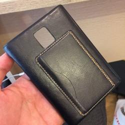 Ốp lưng bọc da cho Blackberry Passport hàng xuất xịn