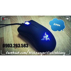Chuột Razer DeathAdder Essentinal - Ergonomic PC Gaming