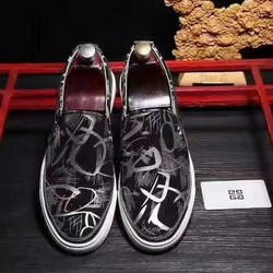 giày lười nam vẽ 3D phong cách HOT 2017