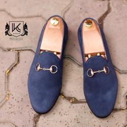 Giày da lộn nam - Thời trang công sở
