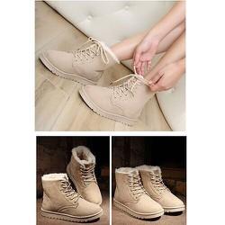 Giày boot nữ thời trang dành cho mùa đông ấm áp Lady-BN460