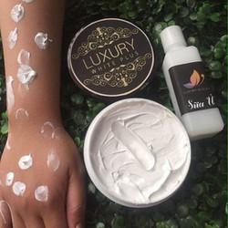 Kem Body LUXURY White Plus tặng kèm sữa ủ trắng