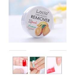 Miếng tẩy sơn móng tay Locia nail polish remover