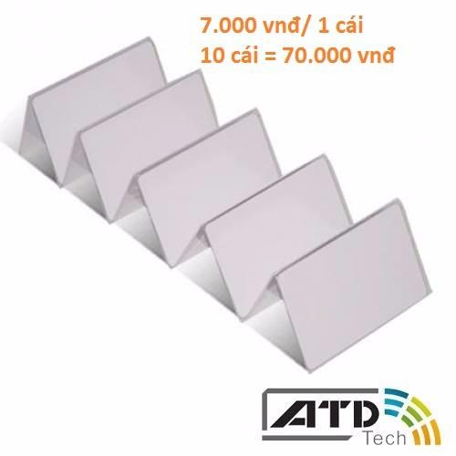 Thẻ RFID mifare 13,56 Mhz