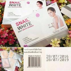 Set tắm trắng Snail White - Thái Lan