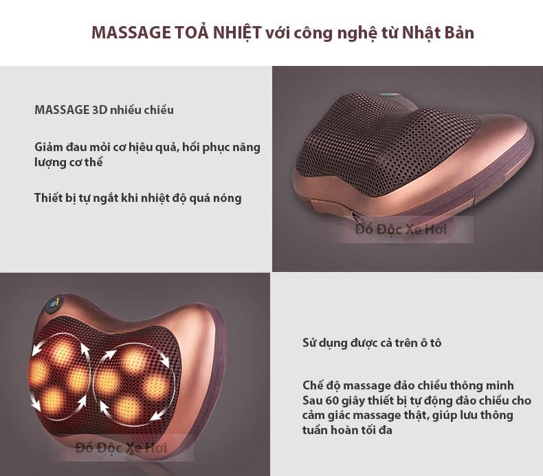 Gối Massage 8 bi 7