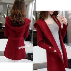 Áo khoác len giả vest