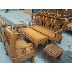 Bộ bàn ghế đào gỗ nghiến tay10