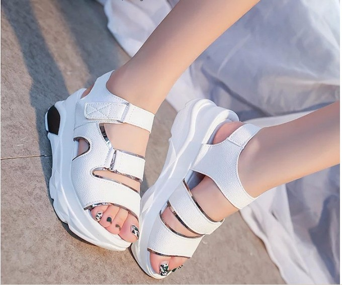 S028T - Korean style female sandal shoes 7