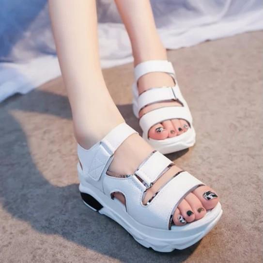 S028T - Korean style female sandal shoes 2