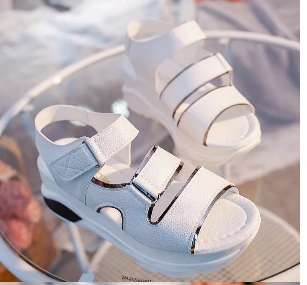 S028T - Korean style female sandal shoes 5