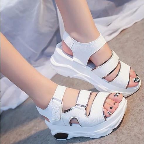 S028T - Korean style female sandal shoes 8