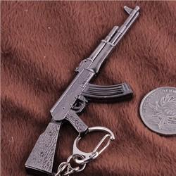 Móc khóa mô hình súng kim loại