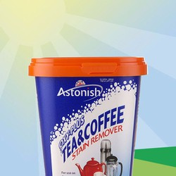 Bột tẩy cặn trà cà phê - Astonish Tea and coffee stain remover 350g