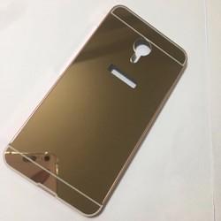 Meizu-M3 note-Ốp tráng gương viền kim loại