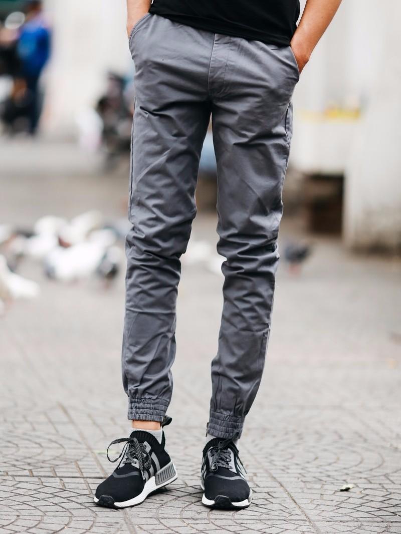 XƯỞNG CHUYÊN SỈ QUẦN ÁO THỂ THAO- quần jogger kakia khóa zip QTKK55 7