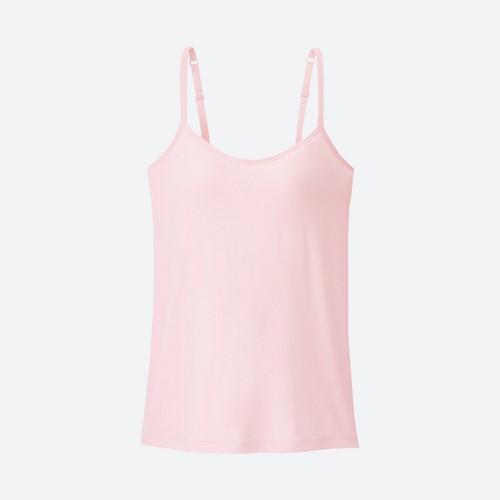 Áo hai dây bra top màu 11 Pink - hàng nhập Nhật