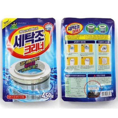 Bộ 2 Gói bột tẩy vệ sinh lồng máy giặt 450g cao cấp - 4248086 , 5507060 , 15_5507060 , 120000 , Bo-2-Goi-bot-tay-ve-sinh-long-may-giat-450g-cao-cap-15_5507060 , sendo.vn , Bộ 2 Gói bột tẩy vệ sinh lồng máy giặt 450g cao cấp