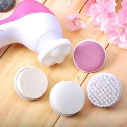 Máy Rửa Rửa Và Massage Mặt 5 trong 1 Cho Làn Da Căng Mịn