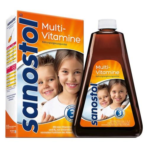 Vitamin tổng hợp Sanostol số 3 của Đức 460ml