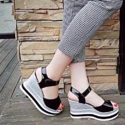 Giày Sandal Nữ thời trang Đẹp giá Rẻ 2017 XD002