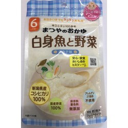 Bột ăn dặm Matsuya Vị Cá Bơn Và Rau Củ 6 tháng gói 30g