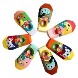 Combo 5 đôi Tất hài chống trượt cho bé yêu từ 4 tháng- 3 tuổi Phú Đạt
