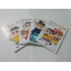 Shin - Cậu Bé Bút Chì 4 tập Bản Đặc Biệt