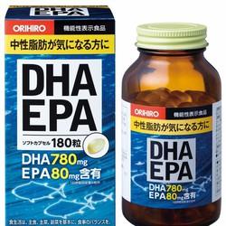 Viên uống bổ não DHA EPA 180 viên Nhật Bản