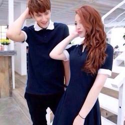 Áo váy đôi tình nhân đẹp