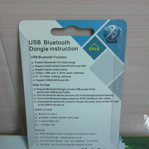 USB bluetooth Dongle music receiver HJX001 V4 2017